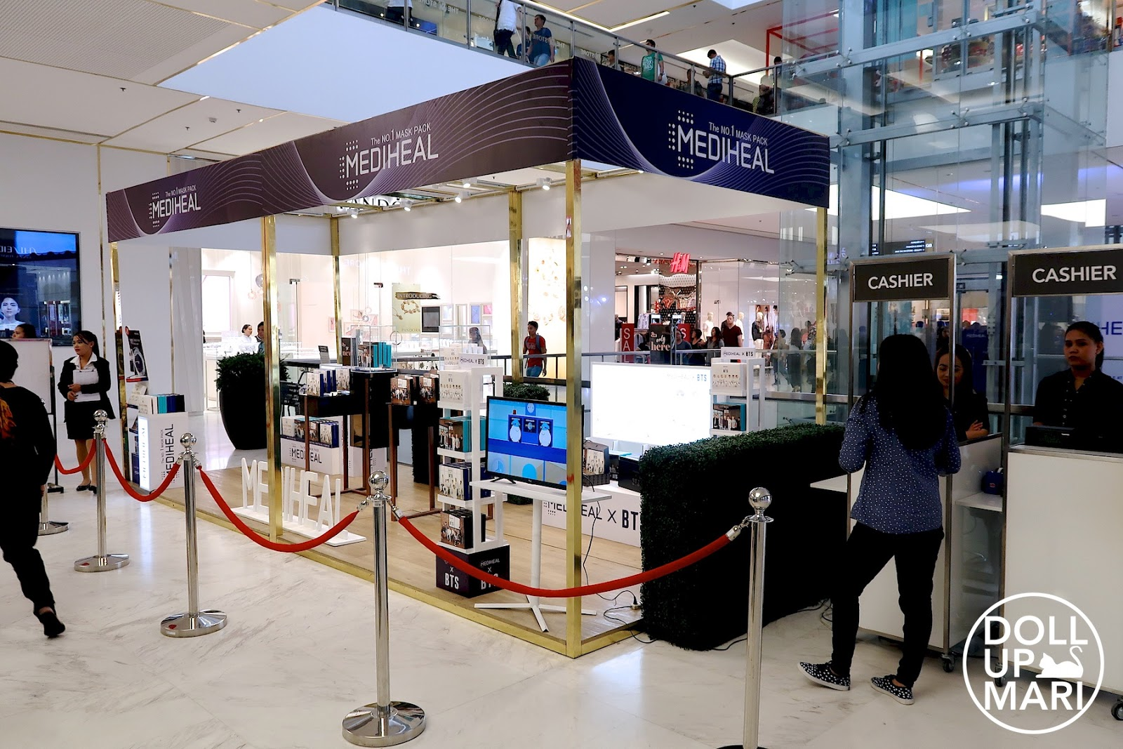 Location Photo of Mediheal X BTS Popup Store At SM Makati