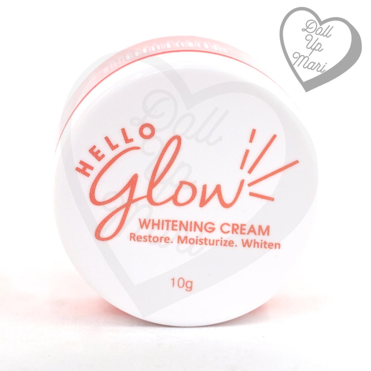 Hello Glow by Ever Bilena Whitening Cream Jar Cover