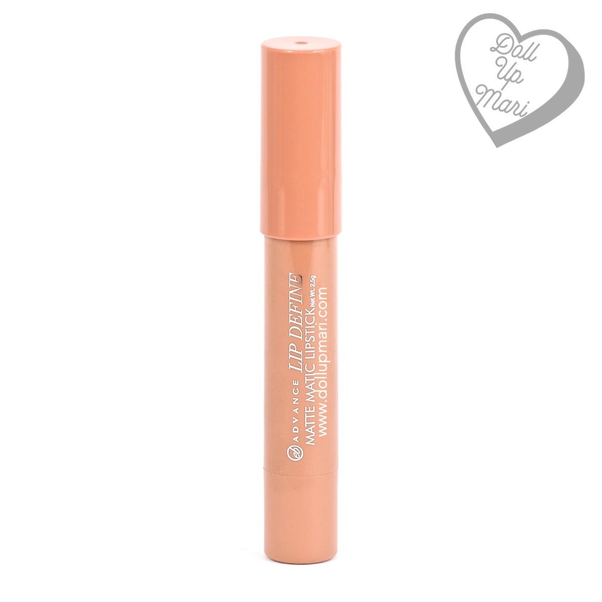 EB Advance Lip Define Matte Matic Lipstick (Buff Brown