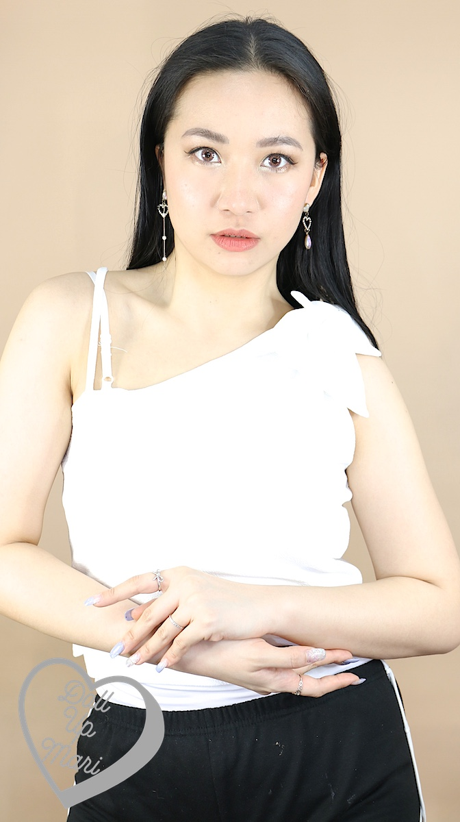 Wearing Deity Venus Bow Top