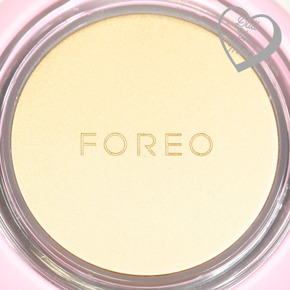 FOREO UFO Smart Mask Device Surface when turned off