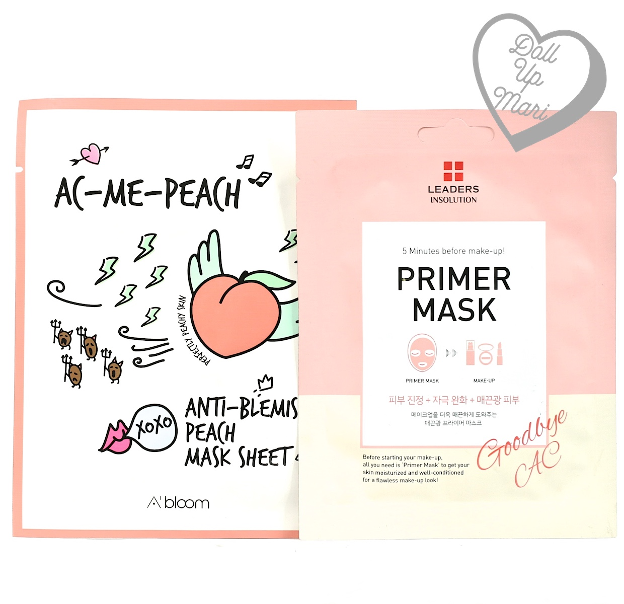 Pack shot of Althea and Leaders Mask Sheets