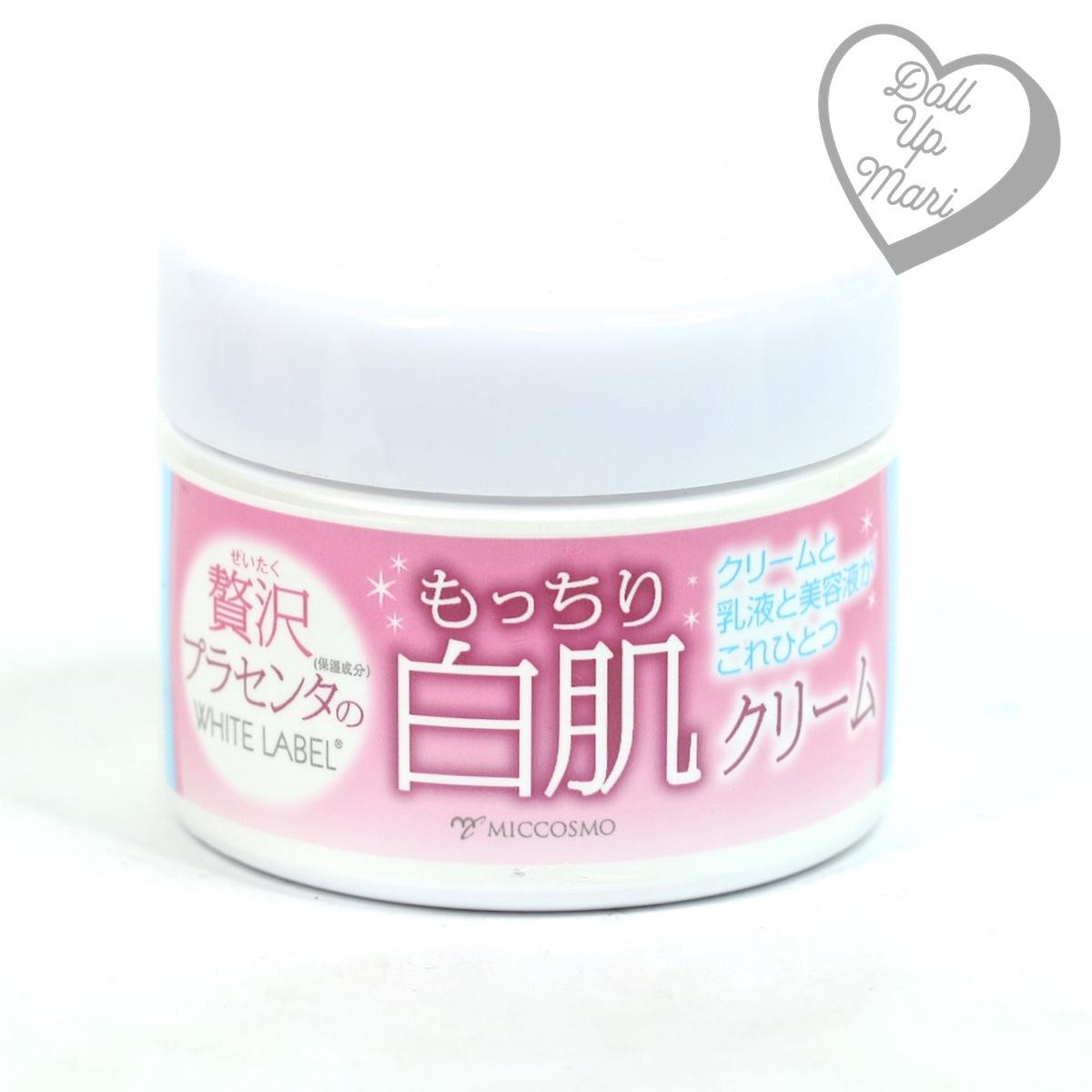 pack shot of Miccosmo White Label Premium Placenta Cream