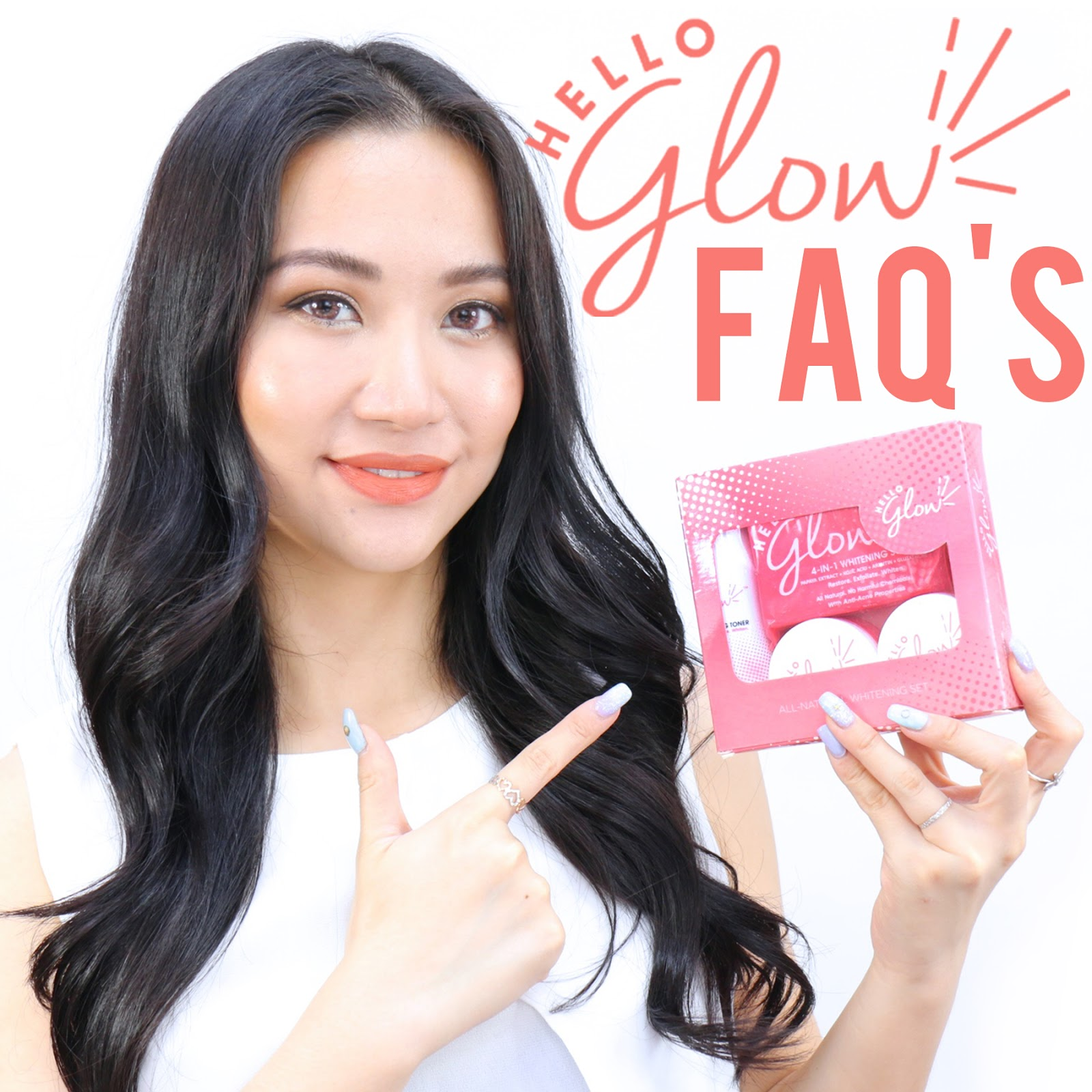 Hello Glow Mega FAQ's cover photo