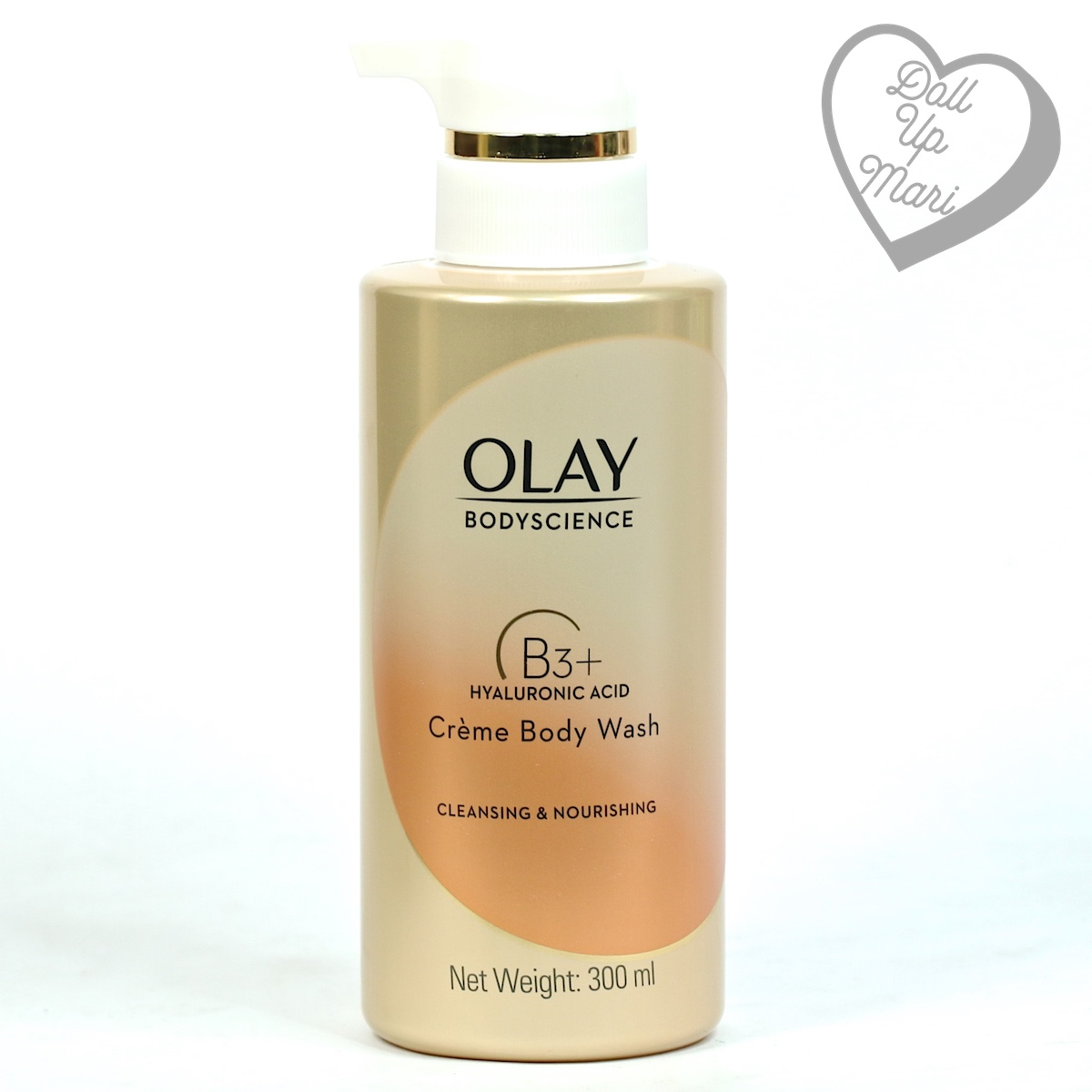 Olay BodyScience Crème Body Wash Cleansing and Nourishing with Hyaluronic Acid Pack shot