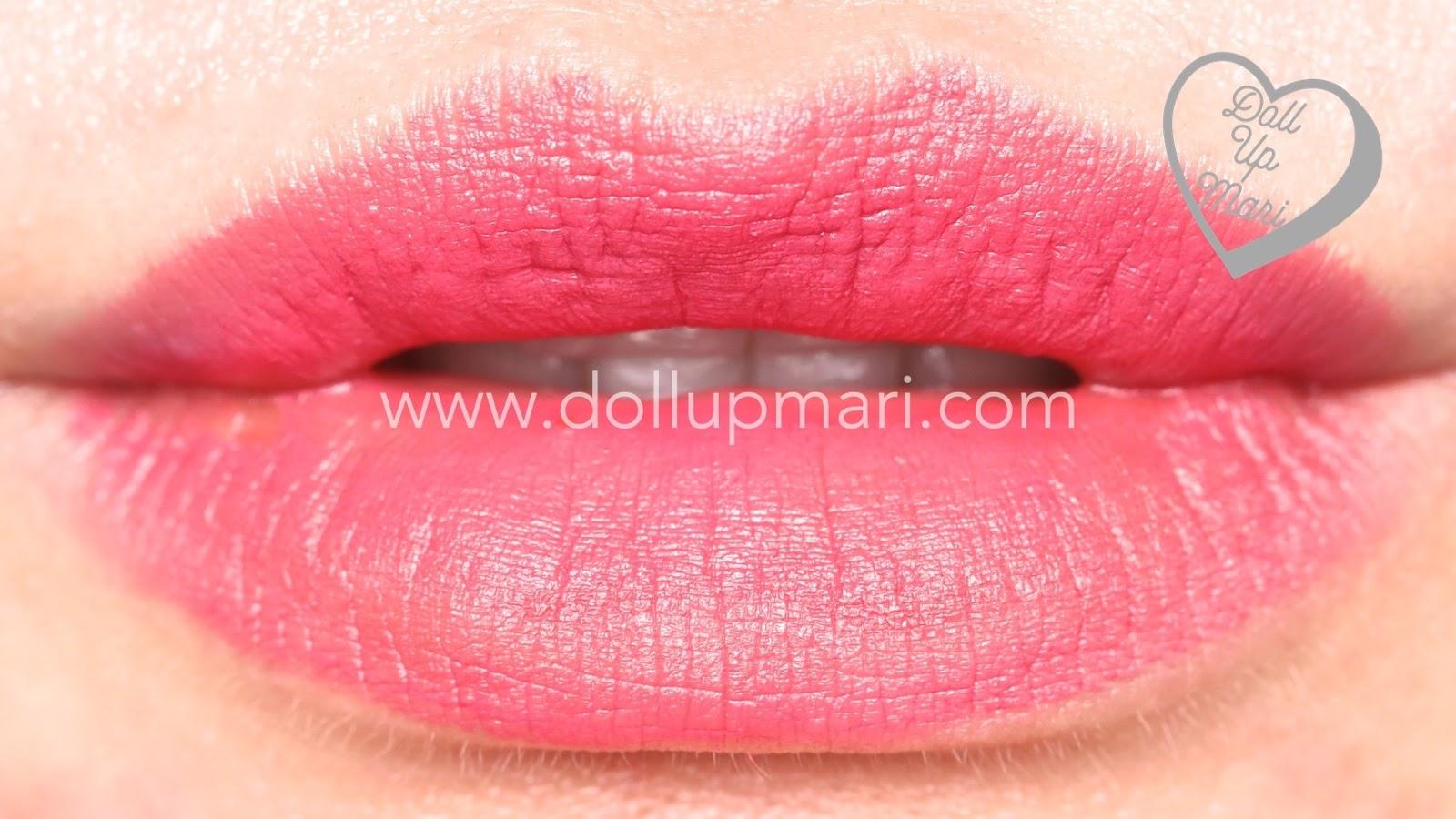 Lip Swatch of Mauve Matters shade of AVON Perfectly Matte Lipstick