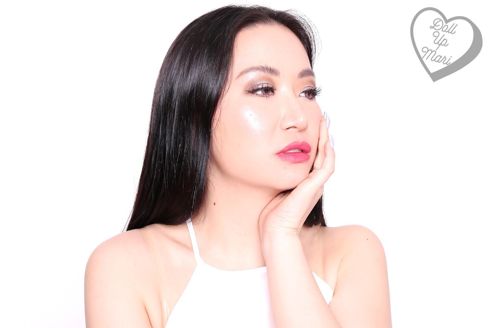 Wearing Mauve Matters shade of AVON Perfectly Matte Lipstick