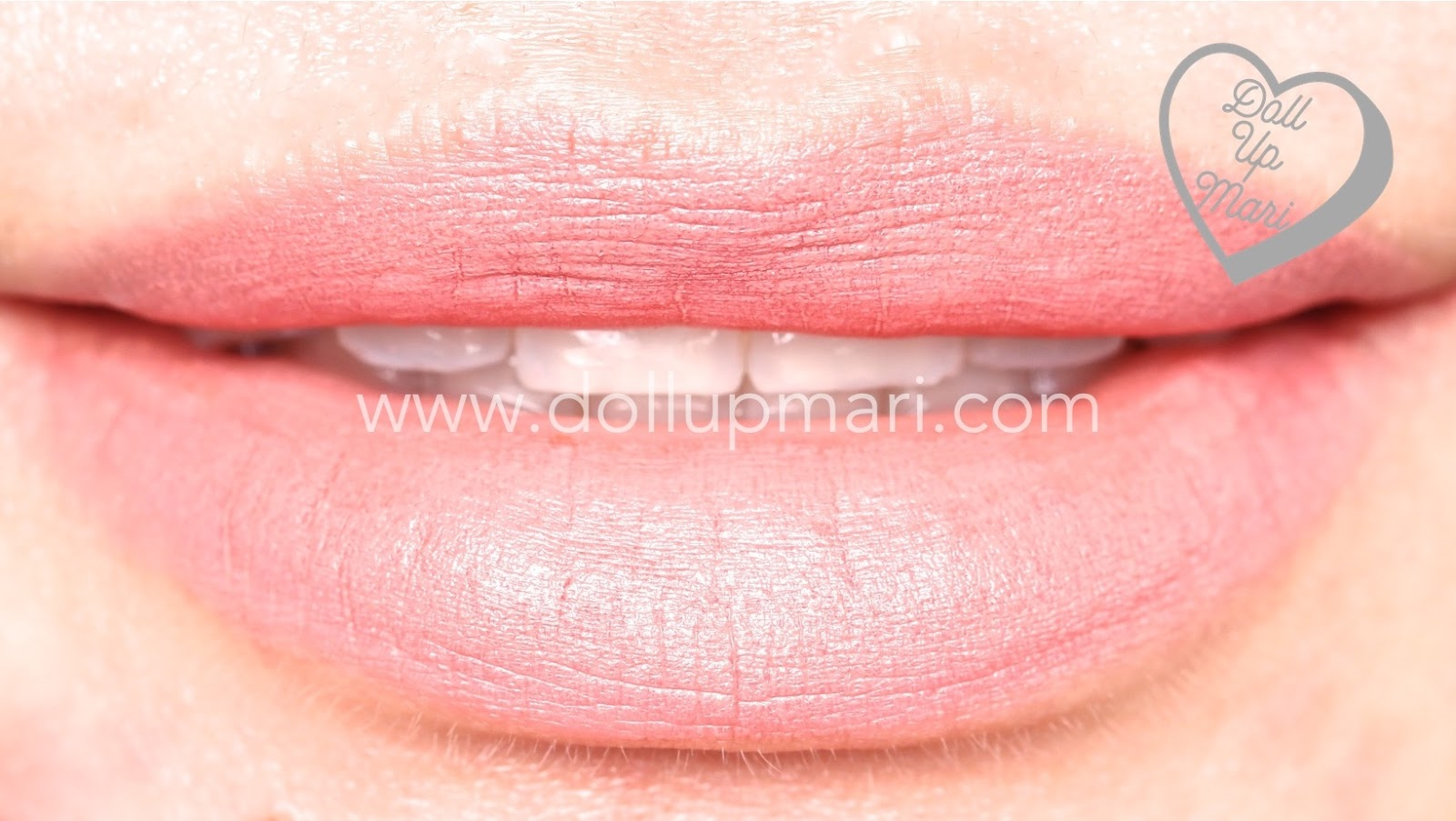 lip swatch of Rouged Perfection shade of AVON Perfectly Matte Lipstick