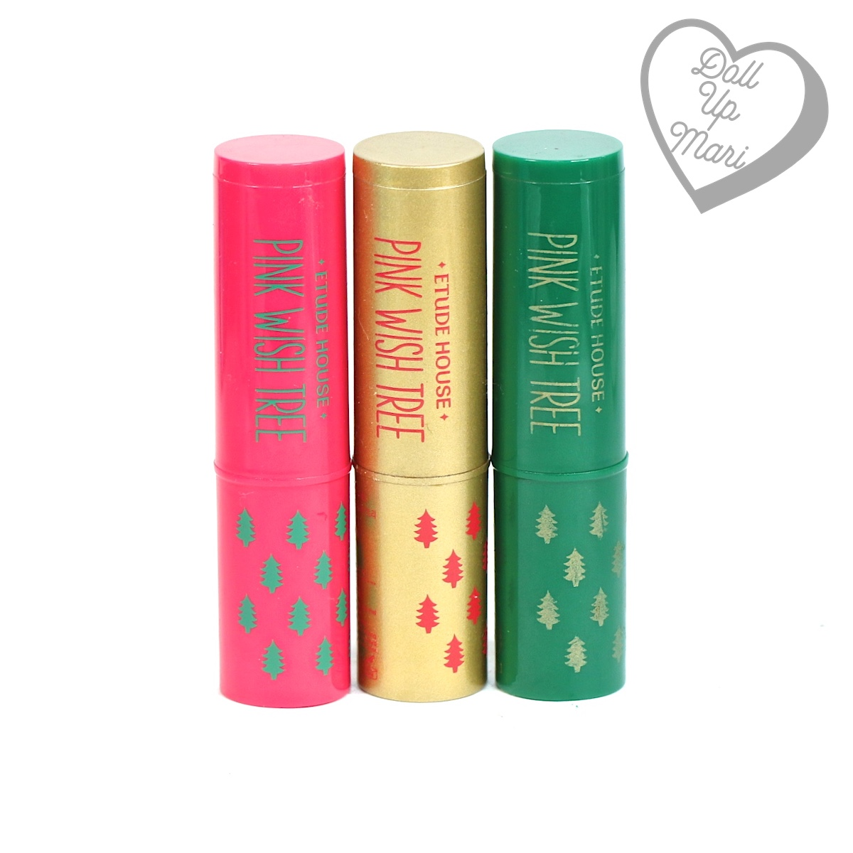 Etude House Pink Wish Tree Lip Balms