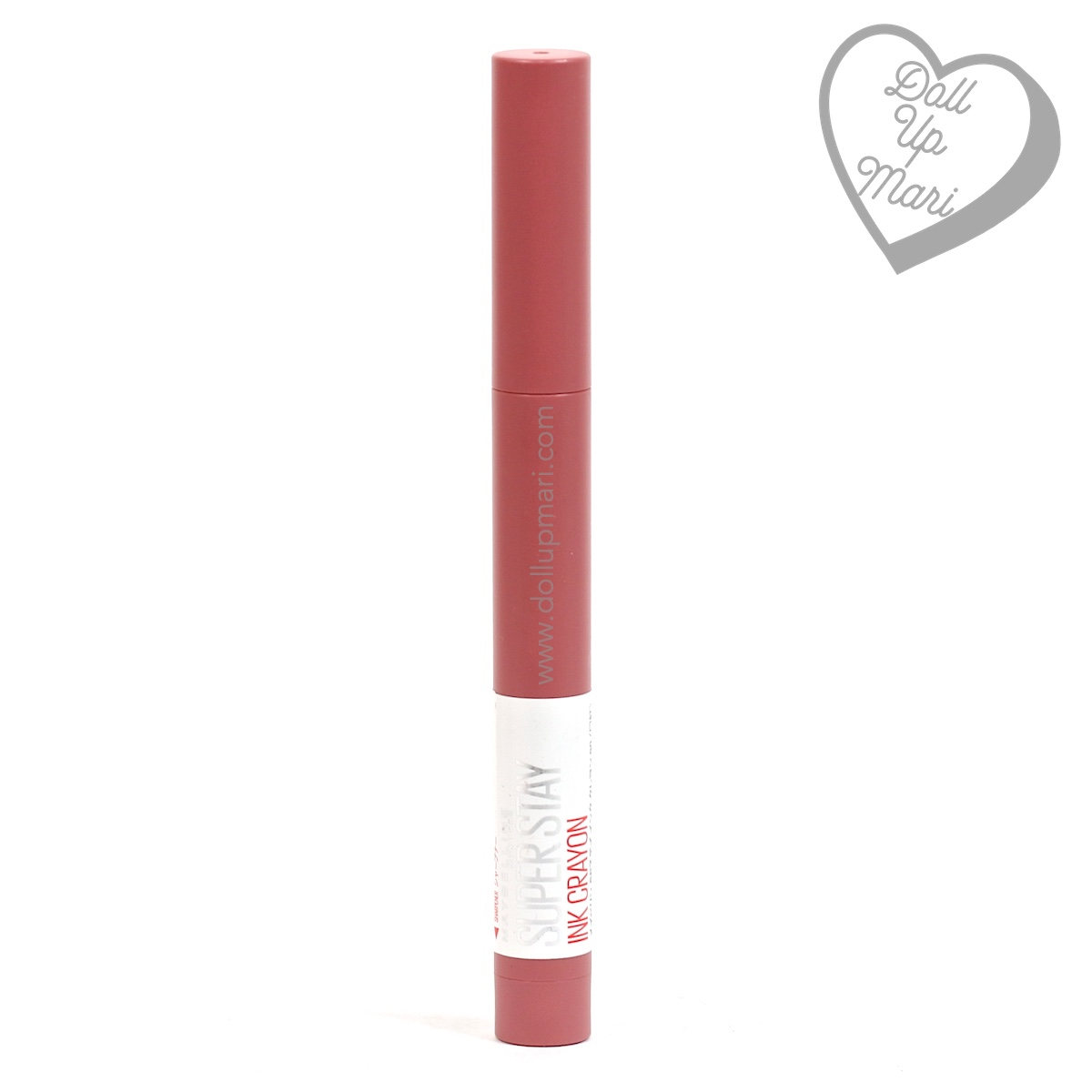 pack shot of 90 Keep It Fun shade of Maybelline Superstay Ink Crayon 8HR Longwear Matte Lipstick