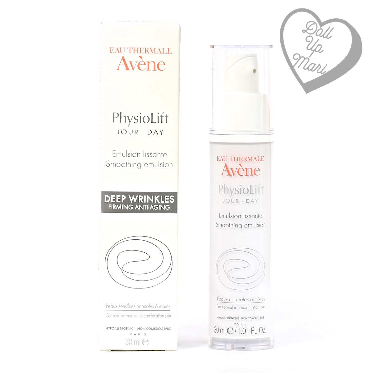 pack shot of Avène PhysioLift Day Smoothing Emulsion