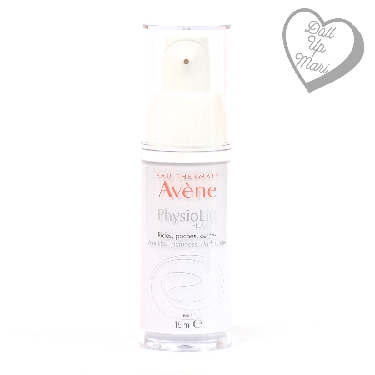 bottle front of Avène PhysioLift Eye Contour Cream