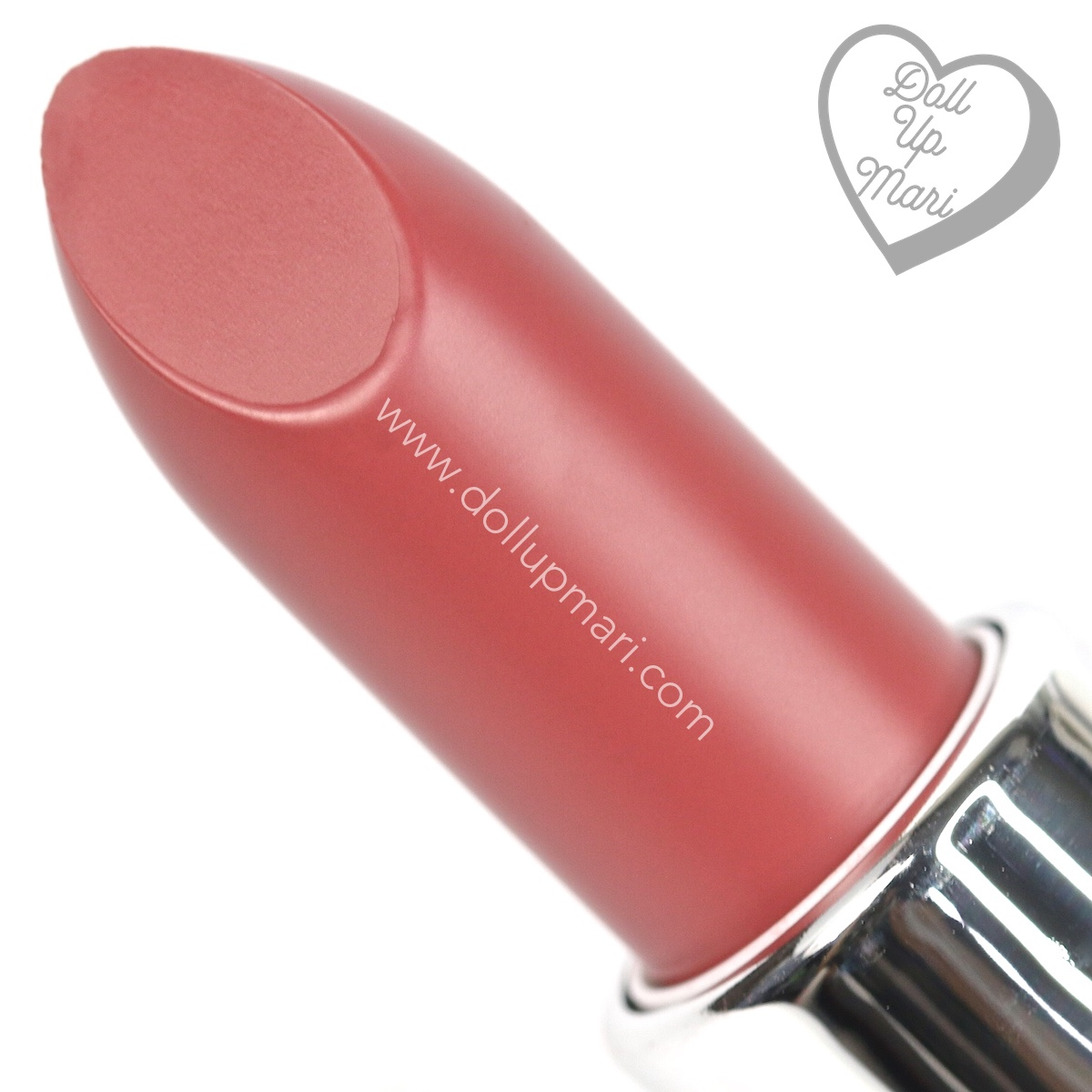 zoom in of Silkygirl OMG! Powder Matte Lipcolor Lipstick (05-Rosewood)