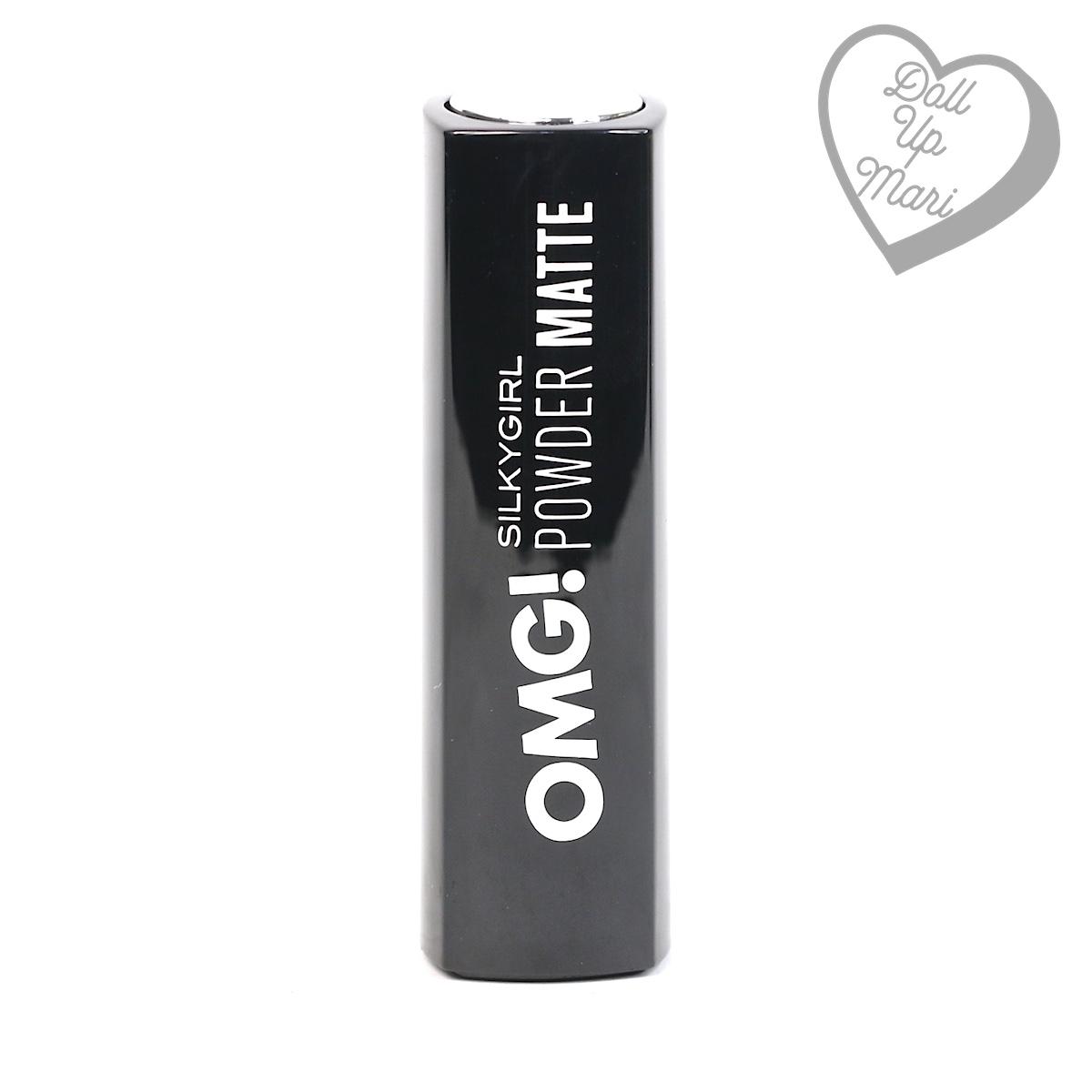 Casing of Silkygirl OMG! Powder Matte Lipcolor Lipstick