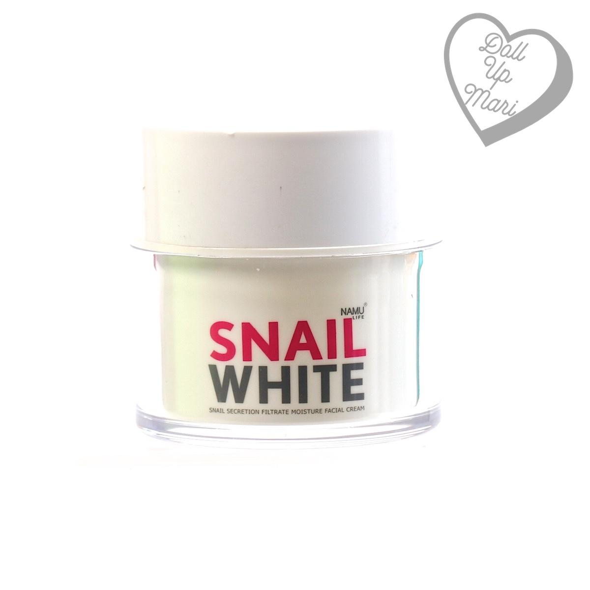 Namu Life Snail White Moisture Facial Cream
