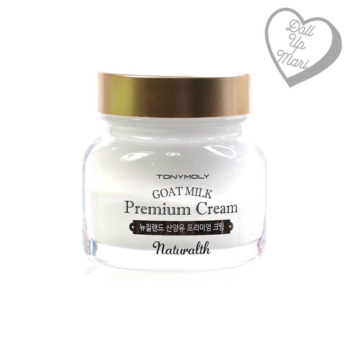 Tony Moly Goat Milk Premium Cream