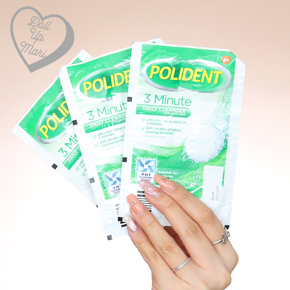 Polident Denture & Retainer Cleaner