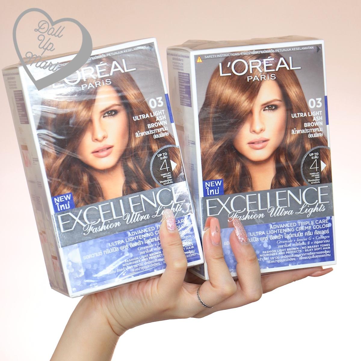 L'Oréal Excellence Fashion Ultra Lights (03 Ash Brown)