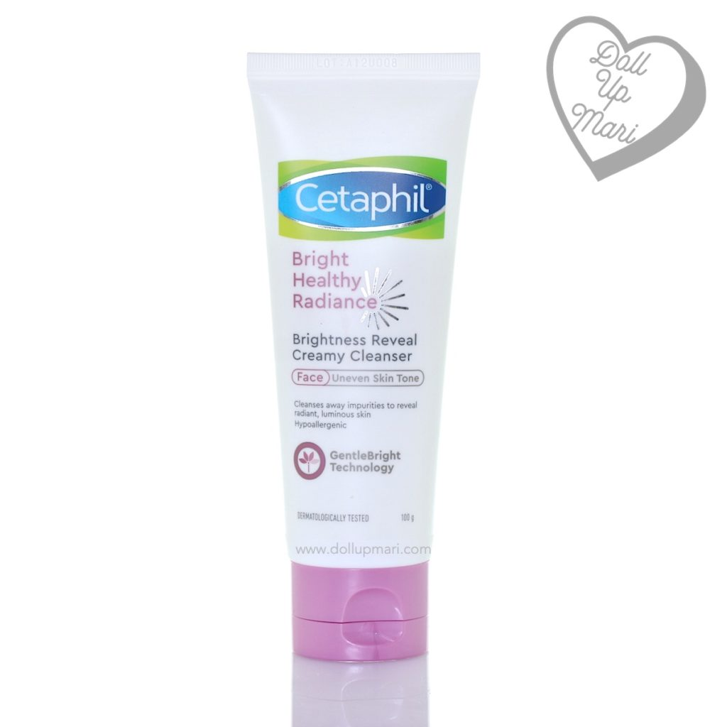 Cetaphil Bright Healthy Radiance Philippines Brightness Reveal Creamy Cleanser