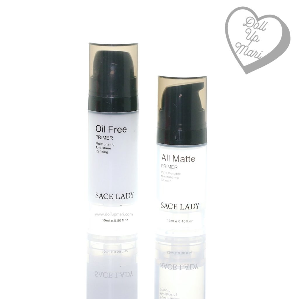 Sace Lady Oil Free Primer and Sace Lady All Matte Primer