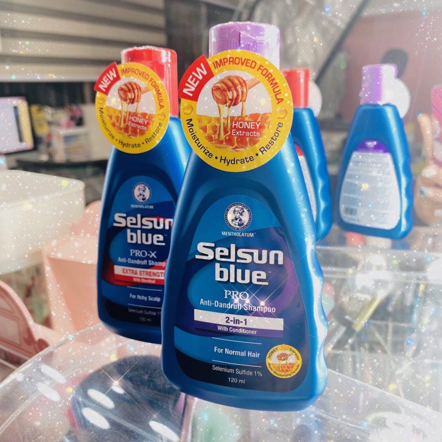 Selsun Blue Pro and Pro-X Anti Dandruff Shampoo