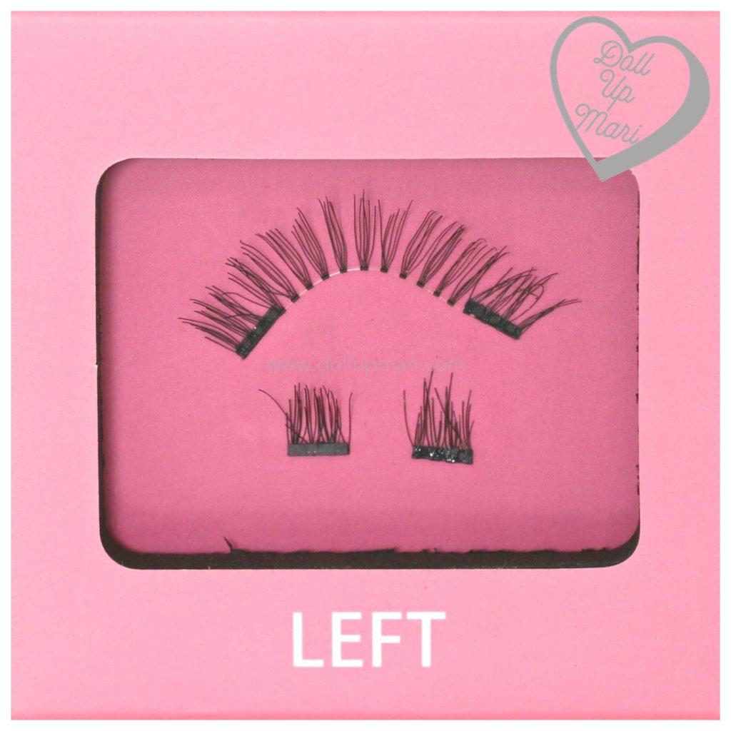 LuxxLash Lily Magnetic False Eyelashes Left Lash Zoom