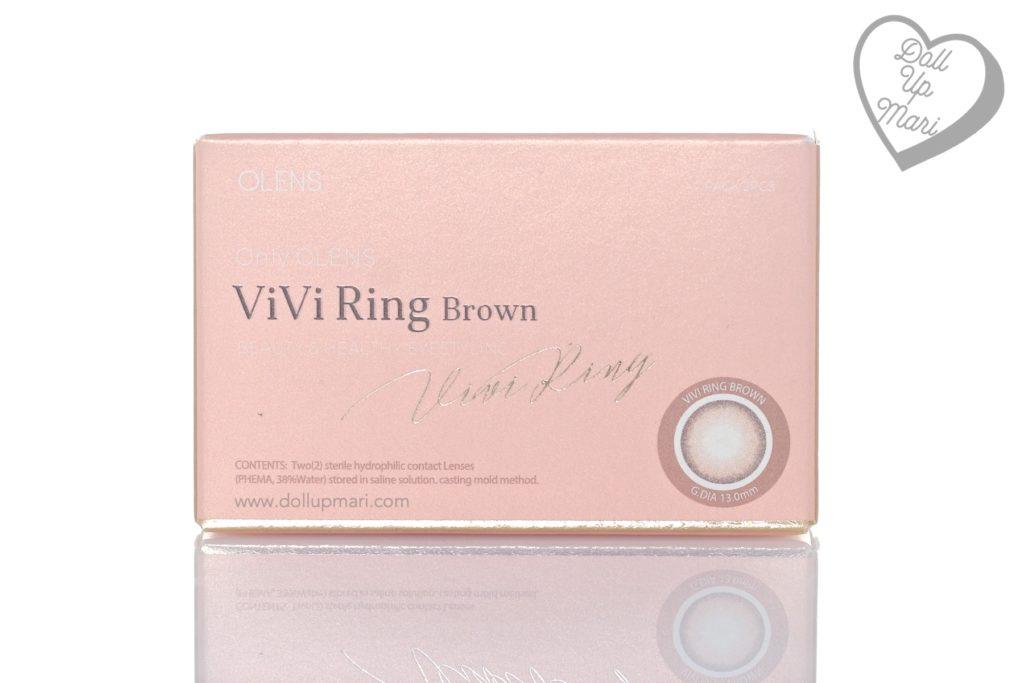 Olens Vivi Ring Brown Box