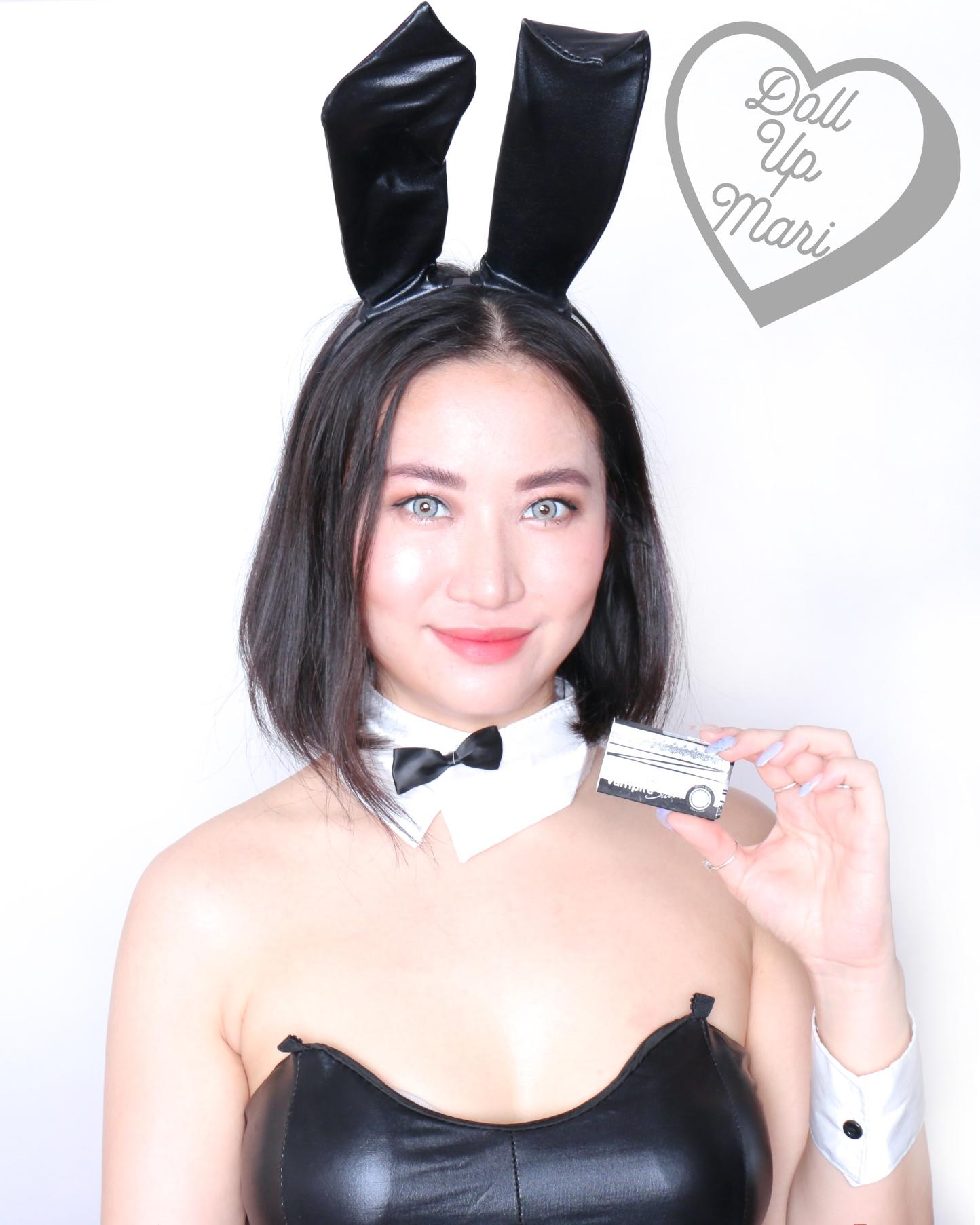 Mari's Bunny Girl Cosplay Wearing Olens Vampire Silver